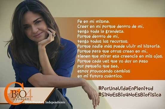 #Bio4Coyoacán  #PorUnaVidaEnPlenitud  #SiNoEsBio4NoEsBiofisica  #DistribuidoraIndependiente #MentePróspera #MujeresEmprendedoras #Empoderamiento #EmpresaMexicana #MujeresEmprendedoras #MujeresEmpresarias