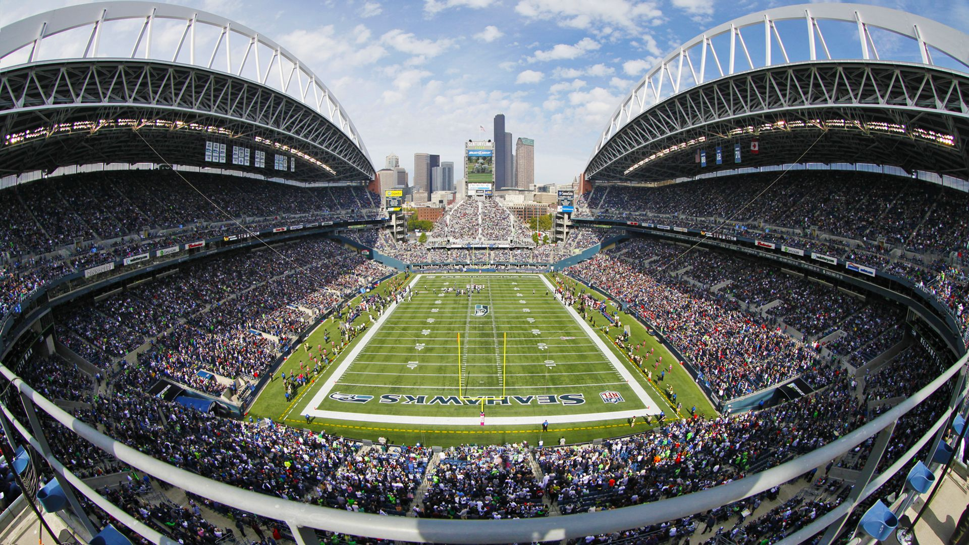 Home Of The 12th Man Century Link Field Seattle Seahawks