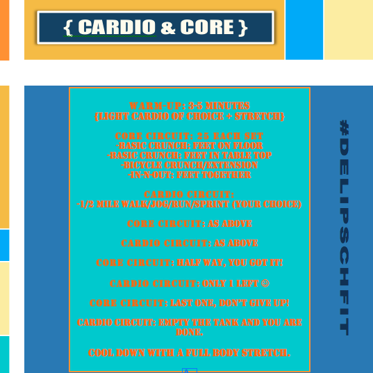 Cardio & Core with delipsch