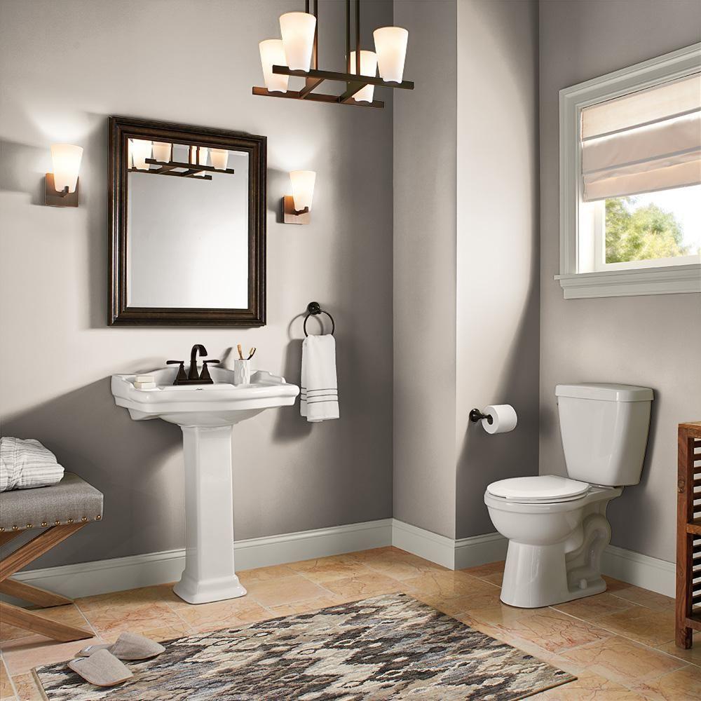Behr Marquee 5 Gal Ppu5 13 Creamy Mushroom One Coat Hide Satin Enamel Interior Paint Primer 745005 The Home Depot Painting Bathroom Interior Paint Behr Marquee Paint