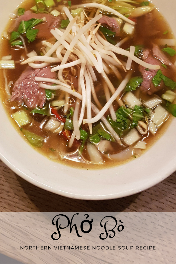 Pho Bo Recipe - Easy Northern Vietnamese Noodle Soup