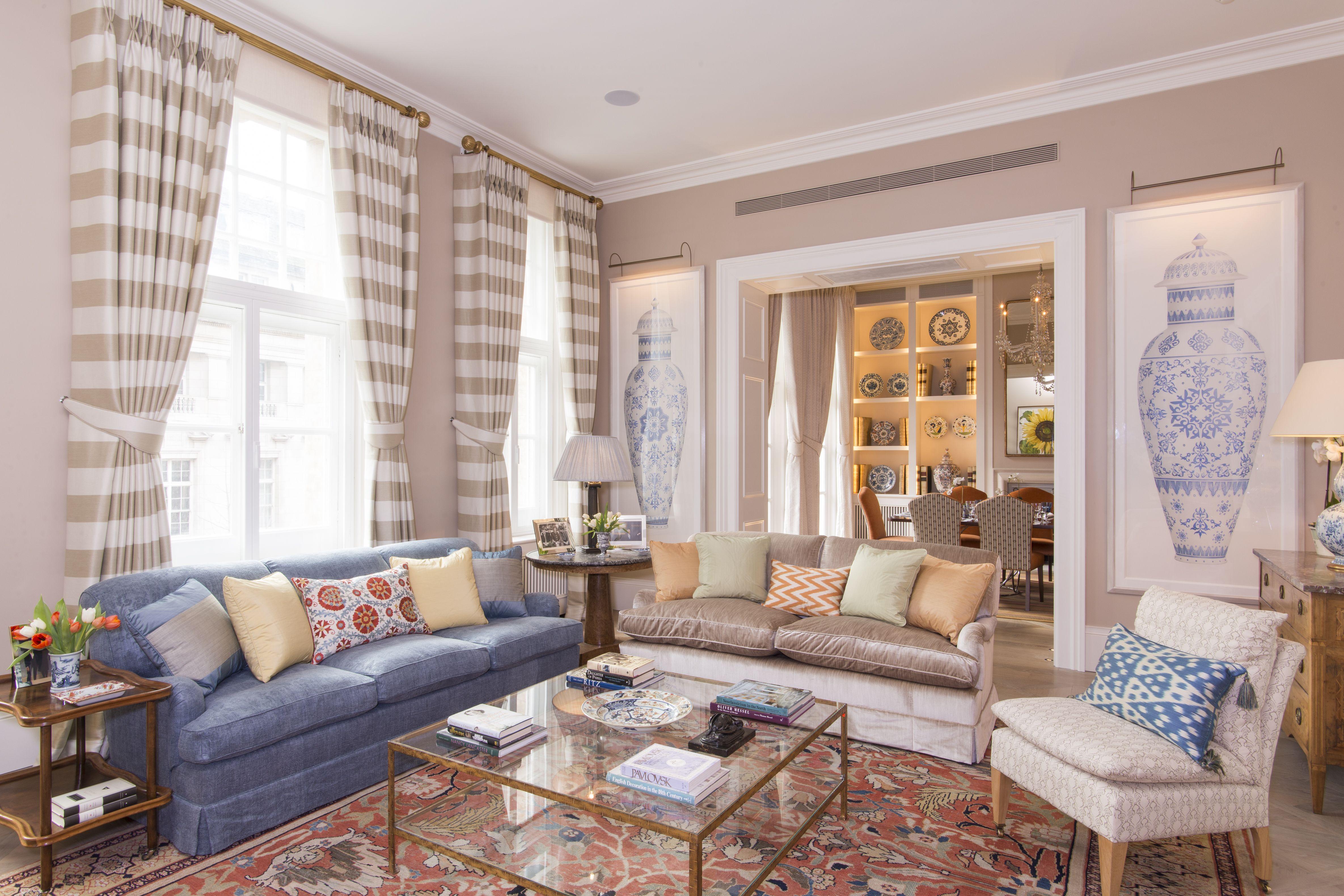 Jane Churchill Interiors London Based Interior Decorator And