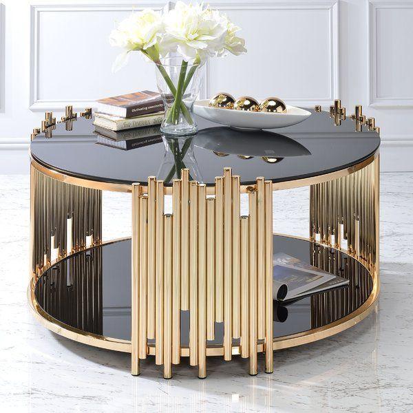 Borton Coffee Table Gold Coffee Table Coffee Table Coffee