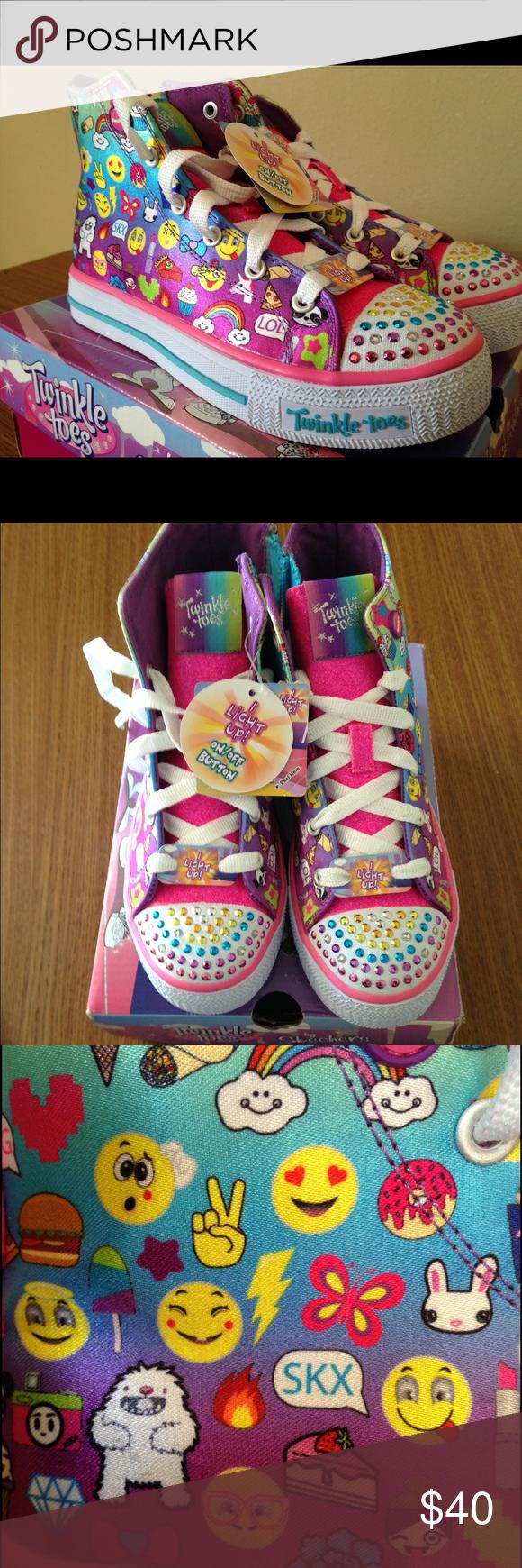 Skechers twinkle toes size 1. Still in