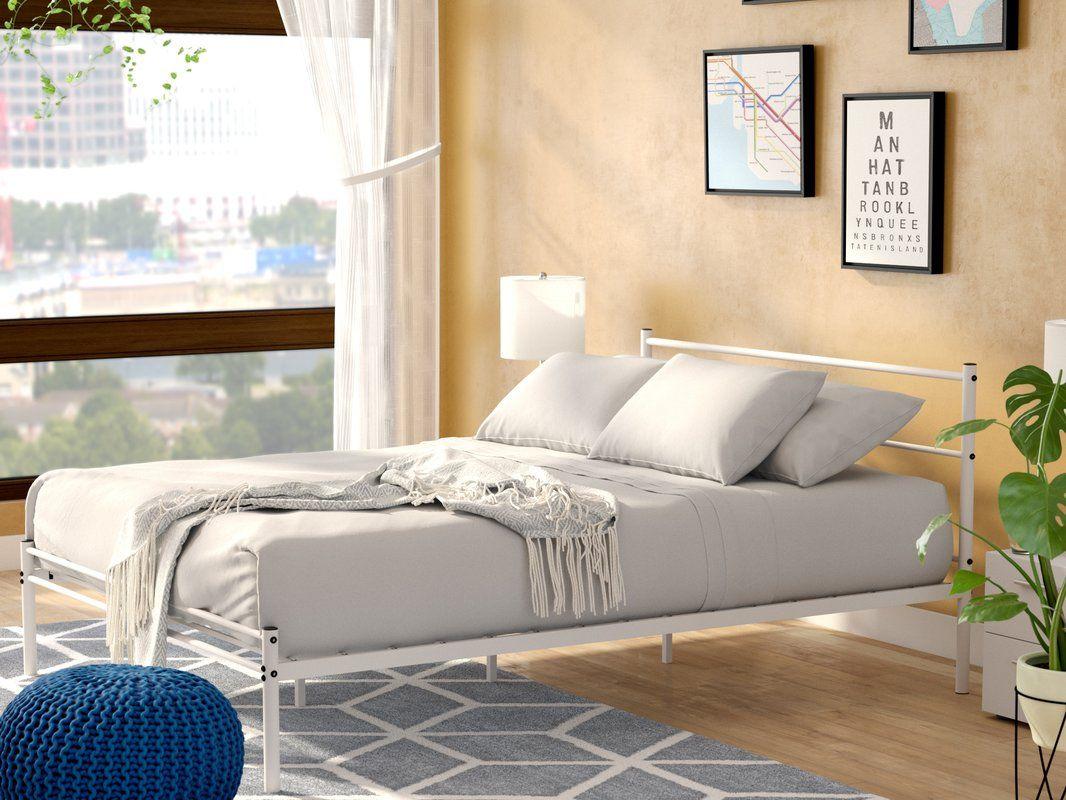 Zipcode Design Otelia Metal Platform Bed & Reviews