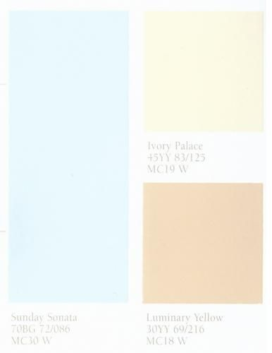 Light Blue And Brown Color Scheme For Bathroom Decorating