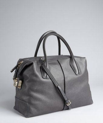 Tod's - Shadow Leather 'D-Styling' Medium Tote.