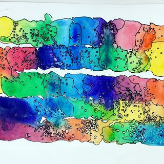 Color Mapping Elementary Art Projects Art Lessons Elementary