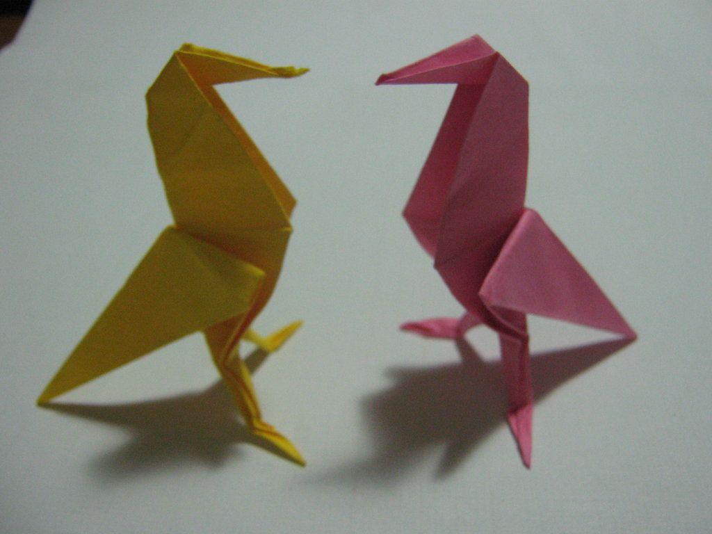 Bird Origami wallpaper HD