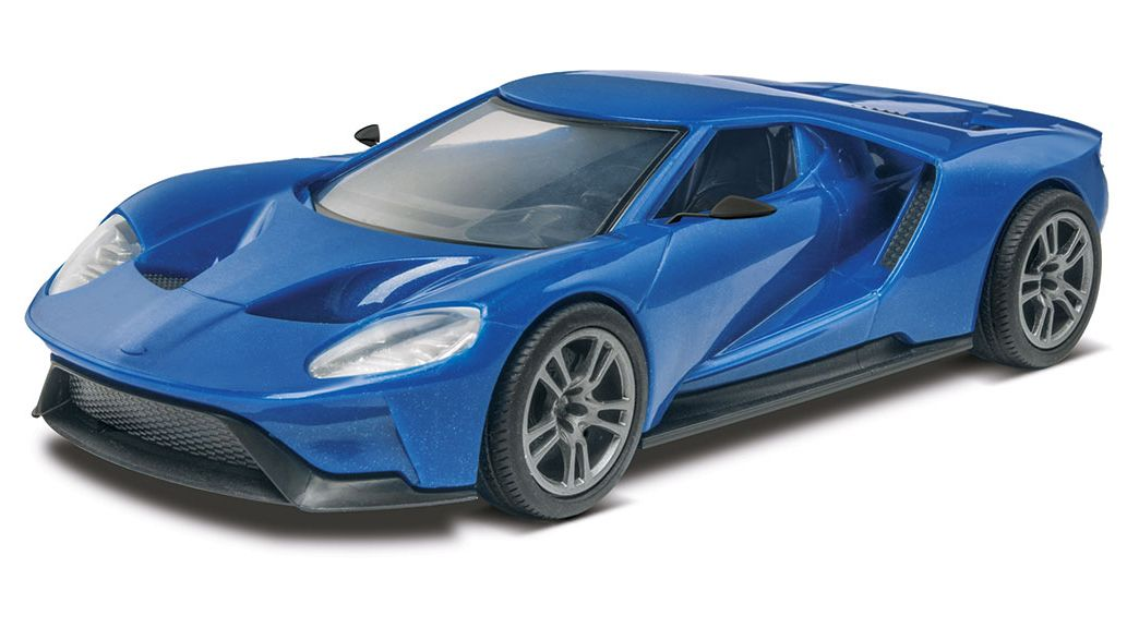 2017 Ford Gt Revell Snaptite Scale Plastic Model Kit From Revell Kit Features Detailed Interior Disc Brakes Ford Gt Plastic Model Kits Cars Model Cars Kits