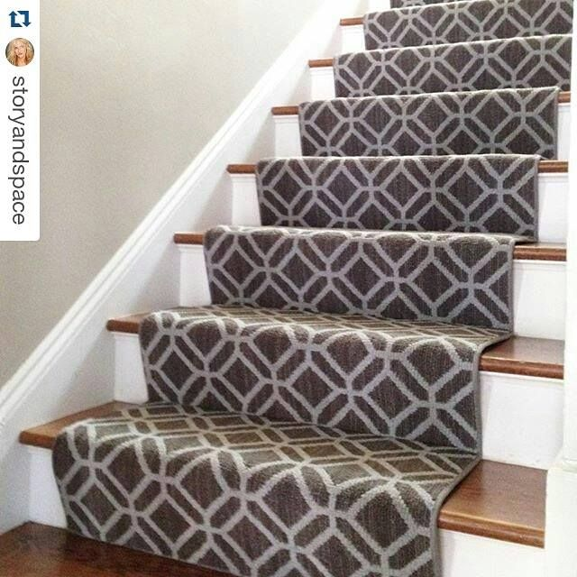 Replacing Carpet With A Stair Runner: Tuftex Casablanca Stair Runner