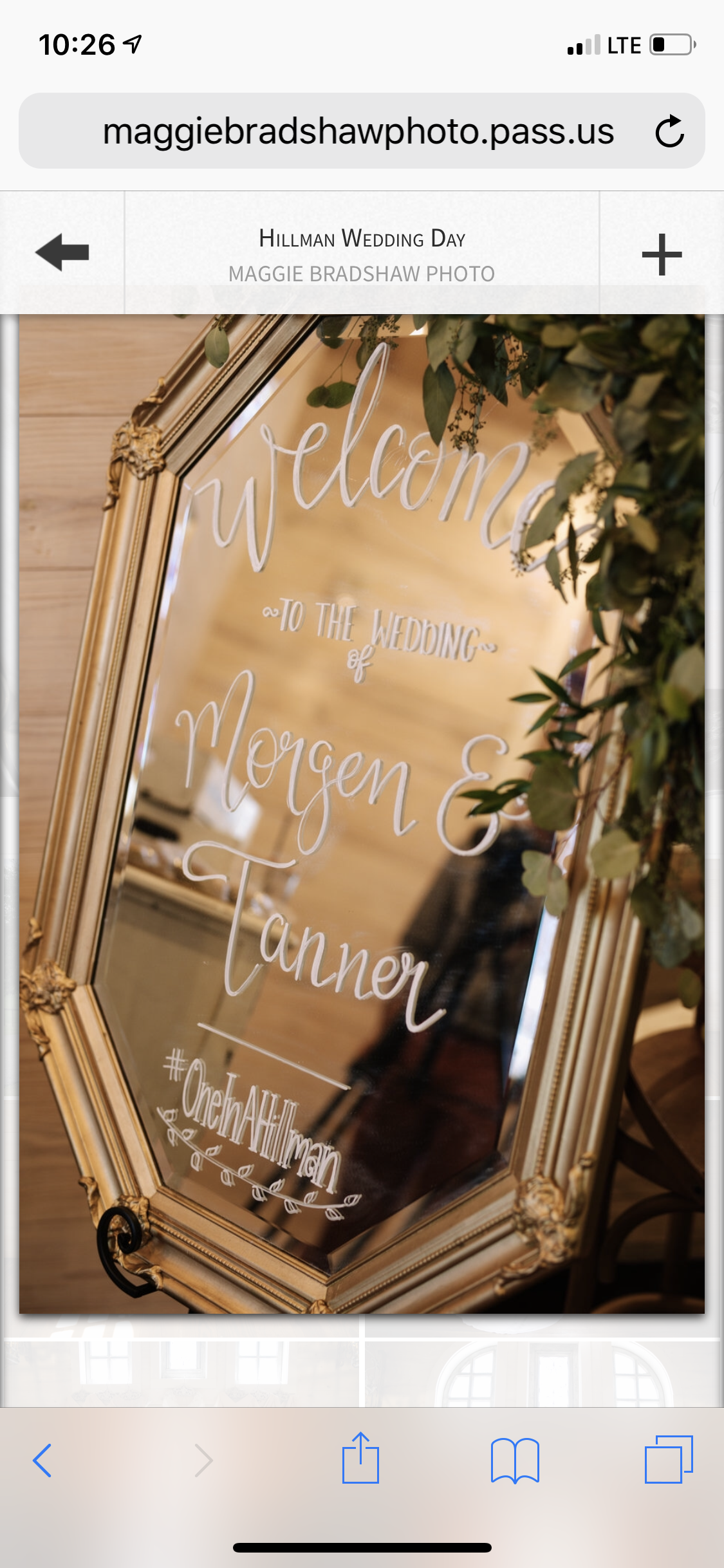 Mirrors For Weddings Inspiration