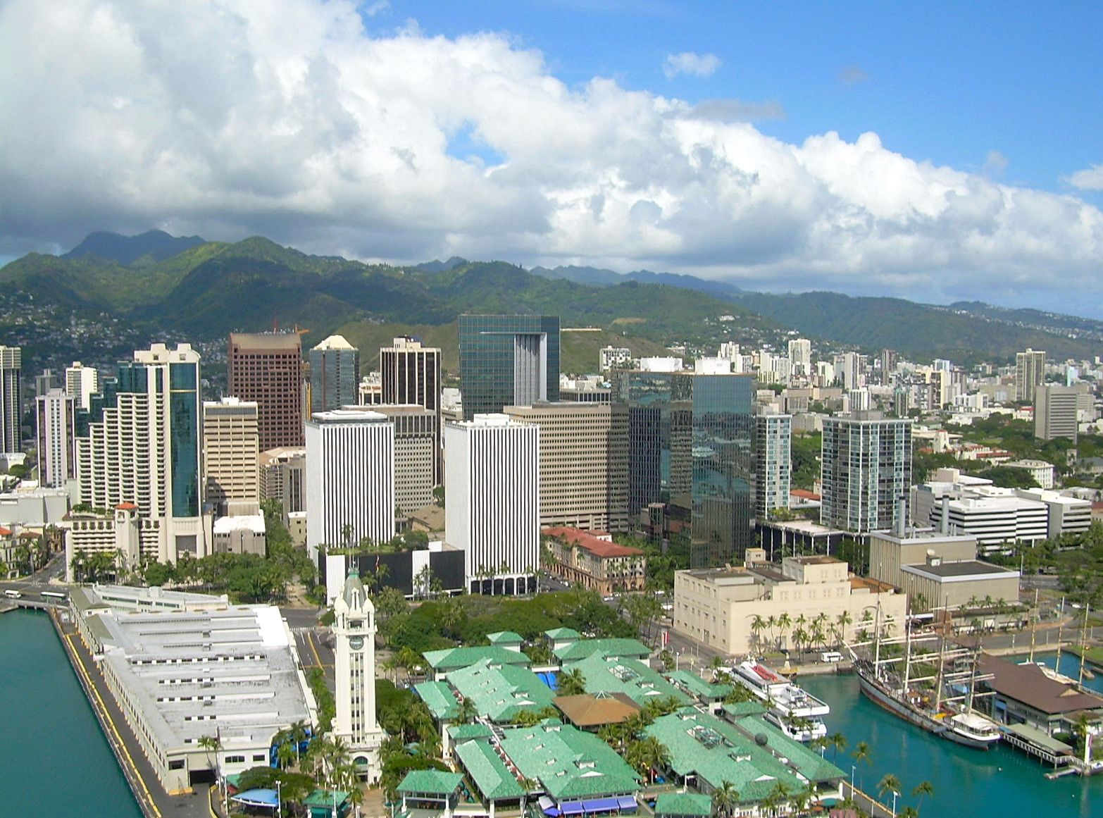 City Of Honolulu In Hawaii