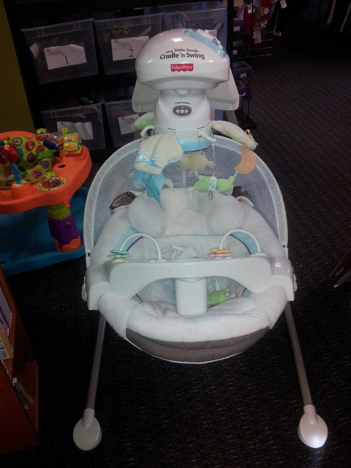 Fisher Price My Little Lamb Cradle N Swing The Fisher Price My