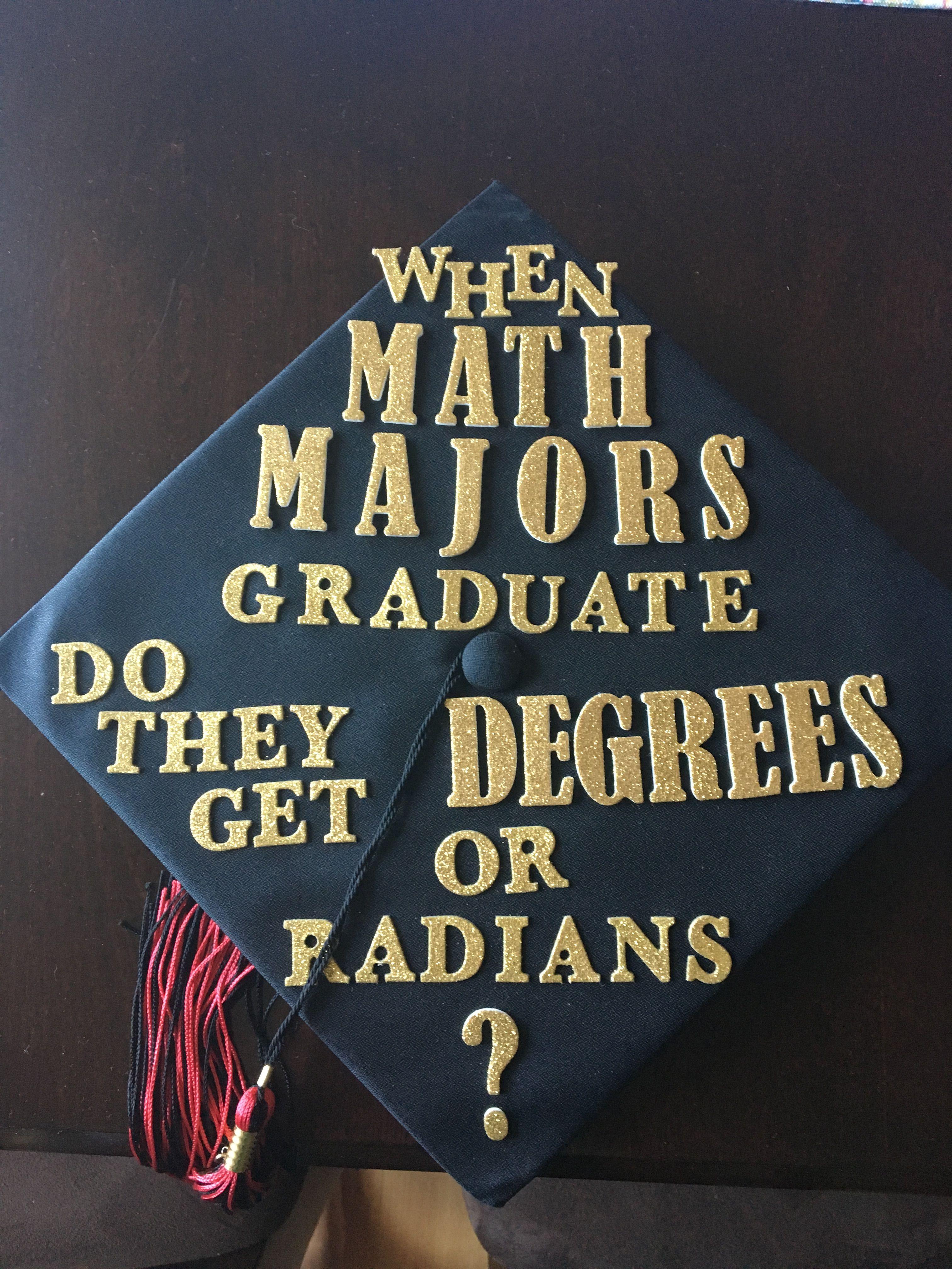 graduation cap math math pinterest math cap and math humor