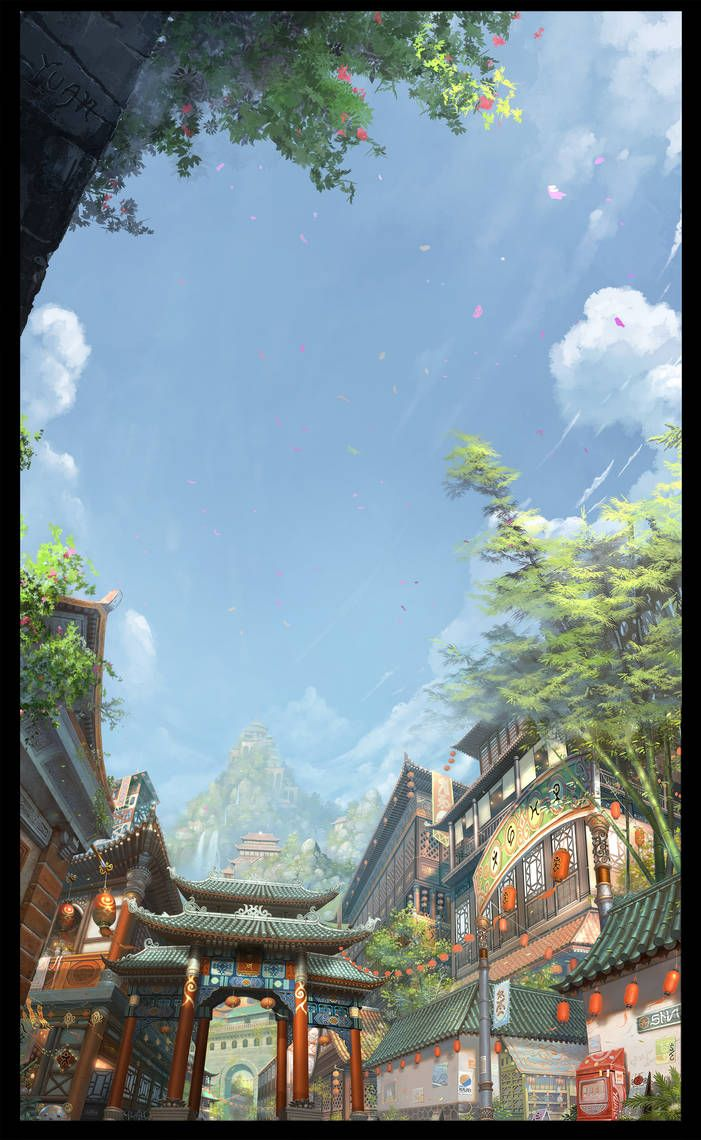 City Scene - Take 2 by ChaoyuanXu on DeviantArt