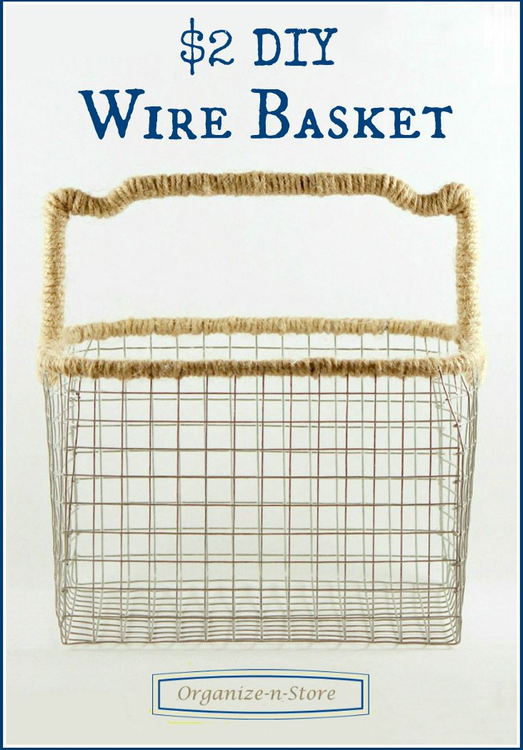 DIY Wire Basket this is a very nice make but you need to know when ...