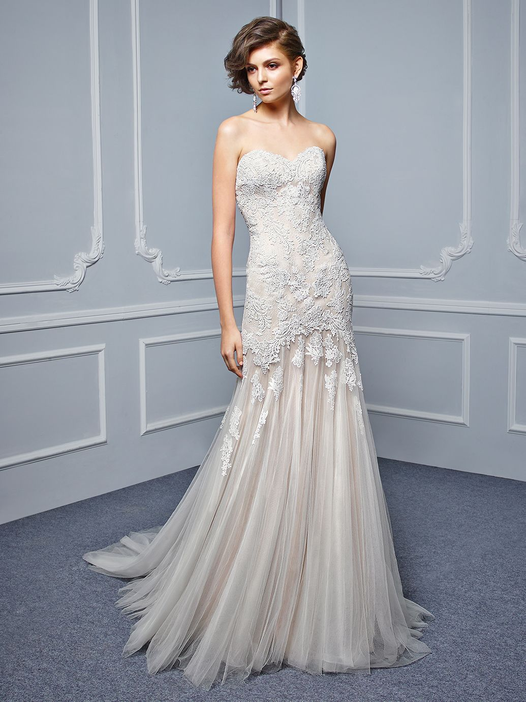 1078837e8e0d 2017 Beautiful, BT17-31, Front View Affordable Wedding Dresses, Best  Wedding Dresses
