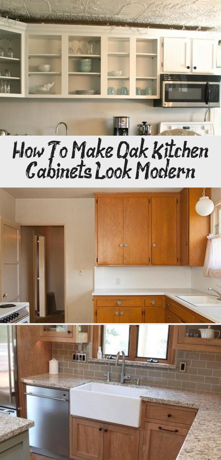 If You Currently Have Cabinets And Would Like To Renovate Them Either Find An Expert Painter Or In 2020 Oak Kitchen Cabinets Tiny House Kitchen Kitchen Cabinet Styles