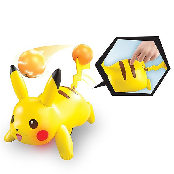 Pikachu Electro Ball Tosser Desk Toy - $40 - Gifts for Pokemon Fans!