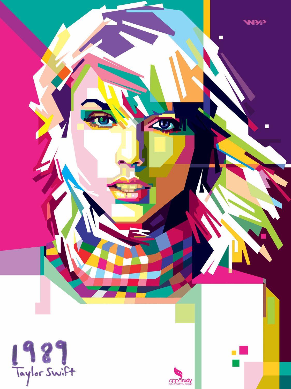 Taylor Swift in #WPAP #POPART
