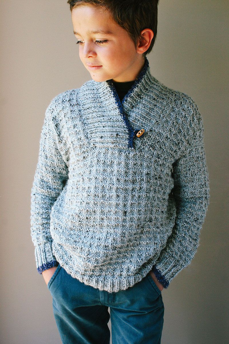 free knitting patterns for boys sweaters