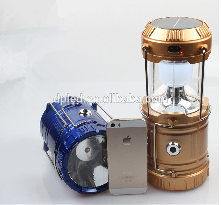 Solar Powered Led Lantern Light With Torch Light Led Lantern Camping Lamp Torch Light