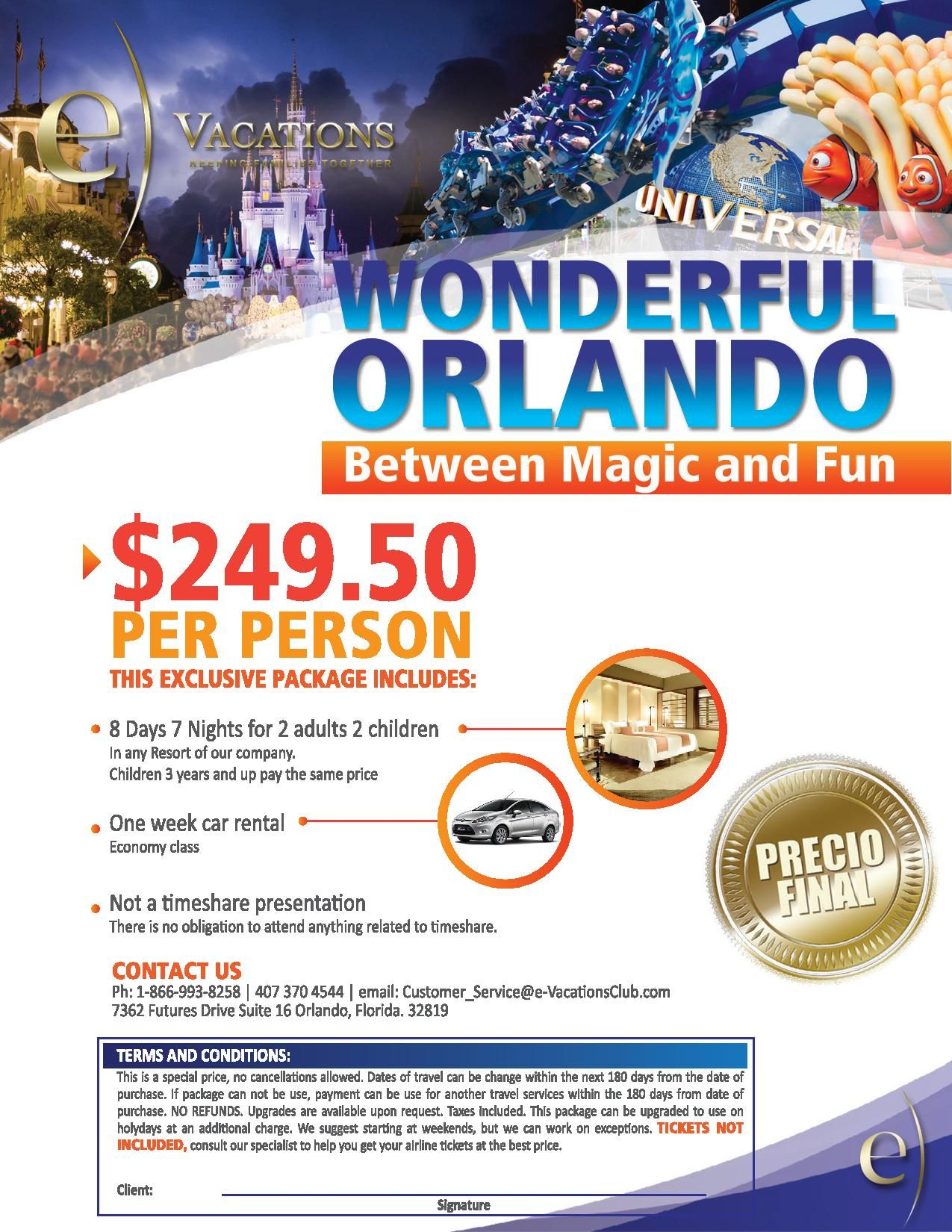 Check Out Our Latest Offers In Wonderful Orlando Between Magic