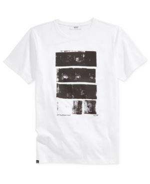 WeSC Men's Brandy Graphic-Print T-Shirt  - White 2XL
