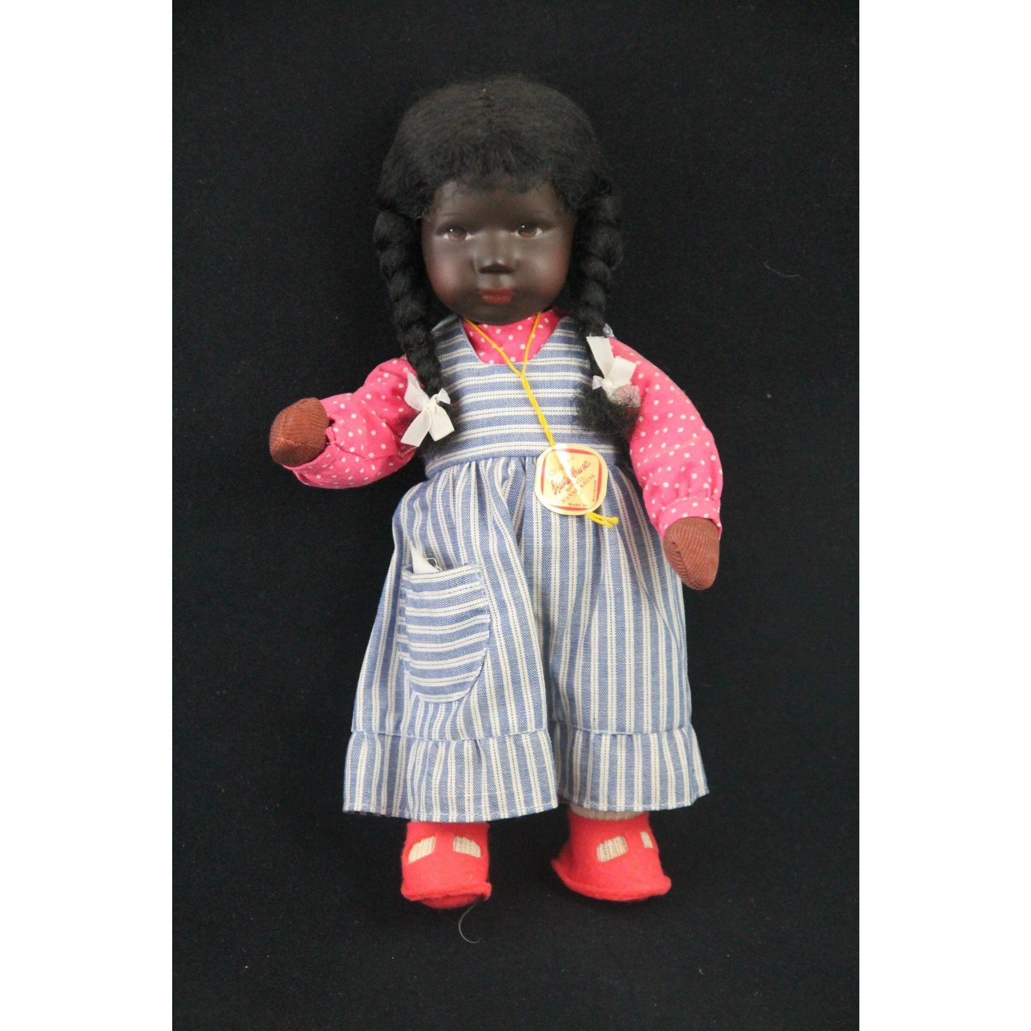 """Pair of Red side knob Doll Shoes for 8"""" Betsy McCall Doll"""