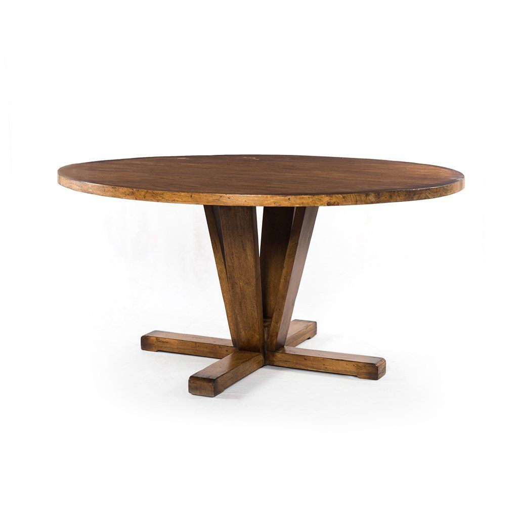 Cobain Dining Table Round Dining Table Dining Table Reclaimed