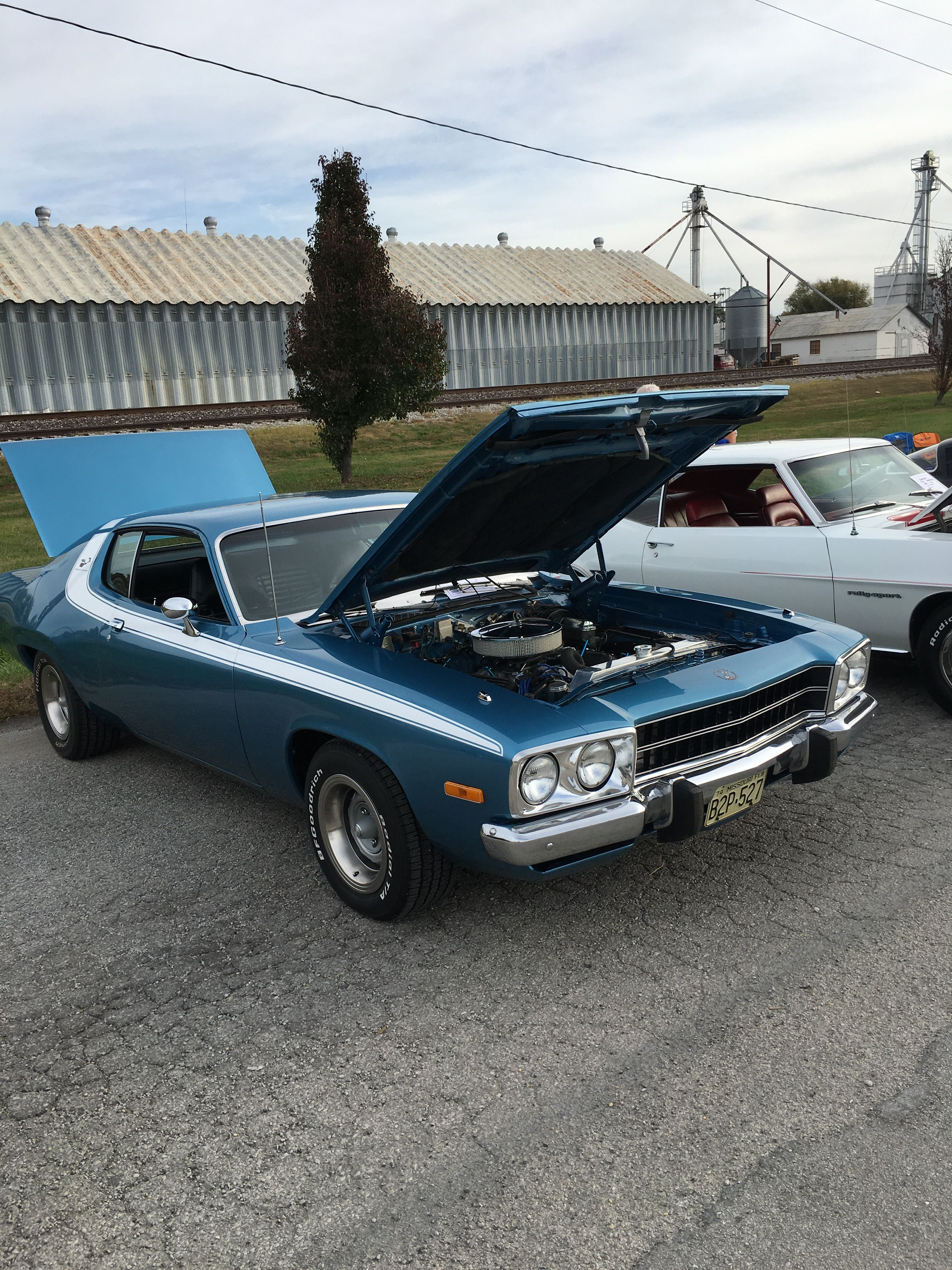 My 74 RR 383 4-speed @ Orrick MO car show | Roadrunner | Pinterest ...