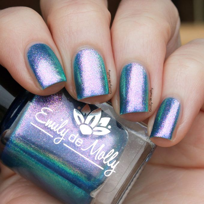 Emily De Molly Sea Of Lies Top Coat In Nail Polish Polishes