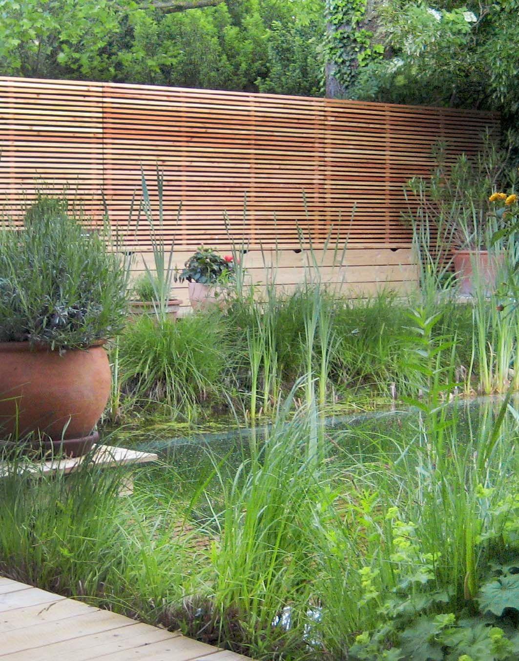 Sichtschutz Moderne Holz Lamellen Nach Mass Von Walli Zen