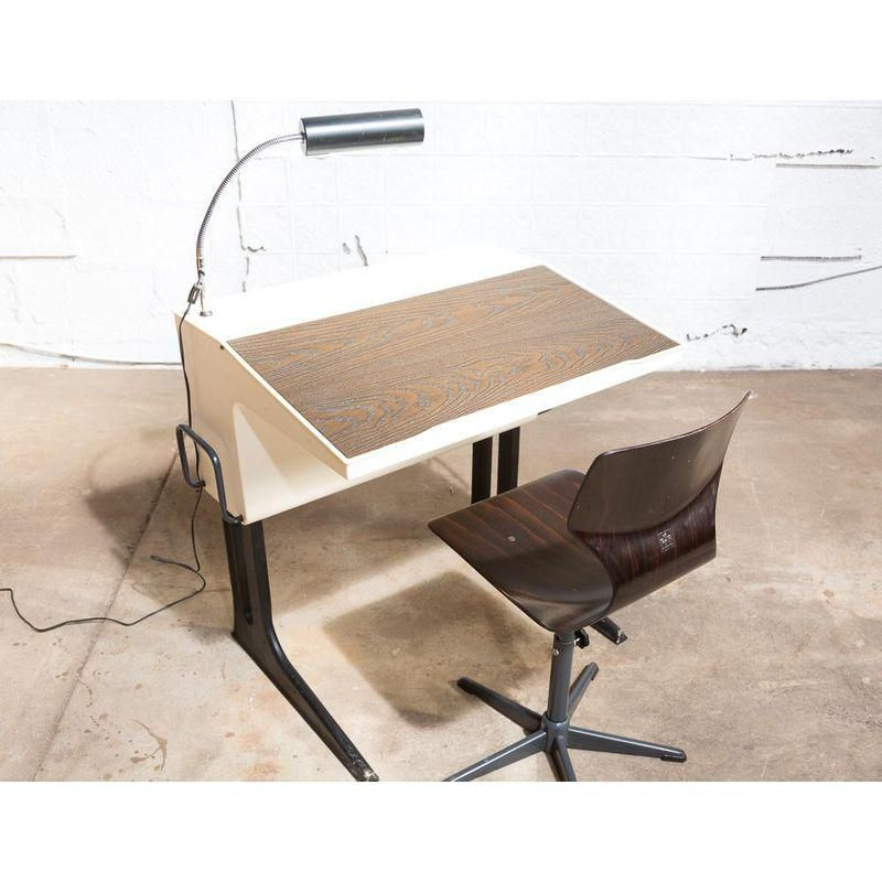 Mid Century Modern Desk Chair By Luigi Colani Modern Desk