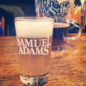 Free Sam Adams Brewery Tour.