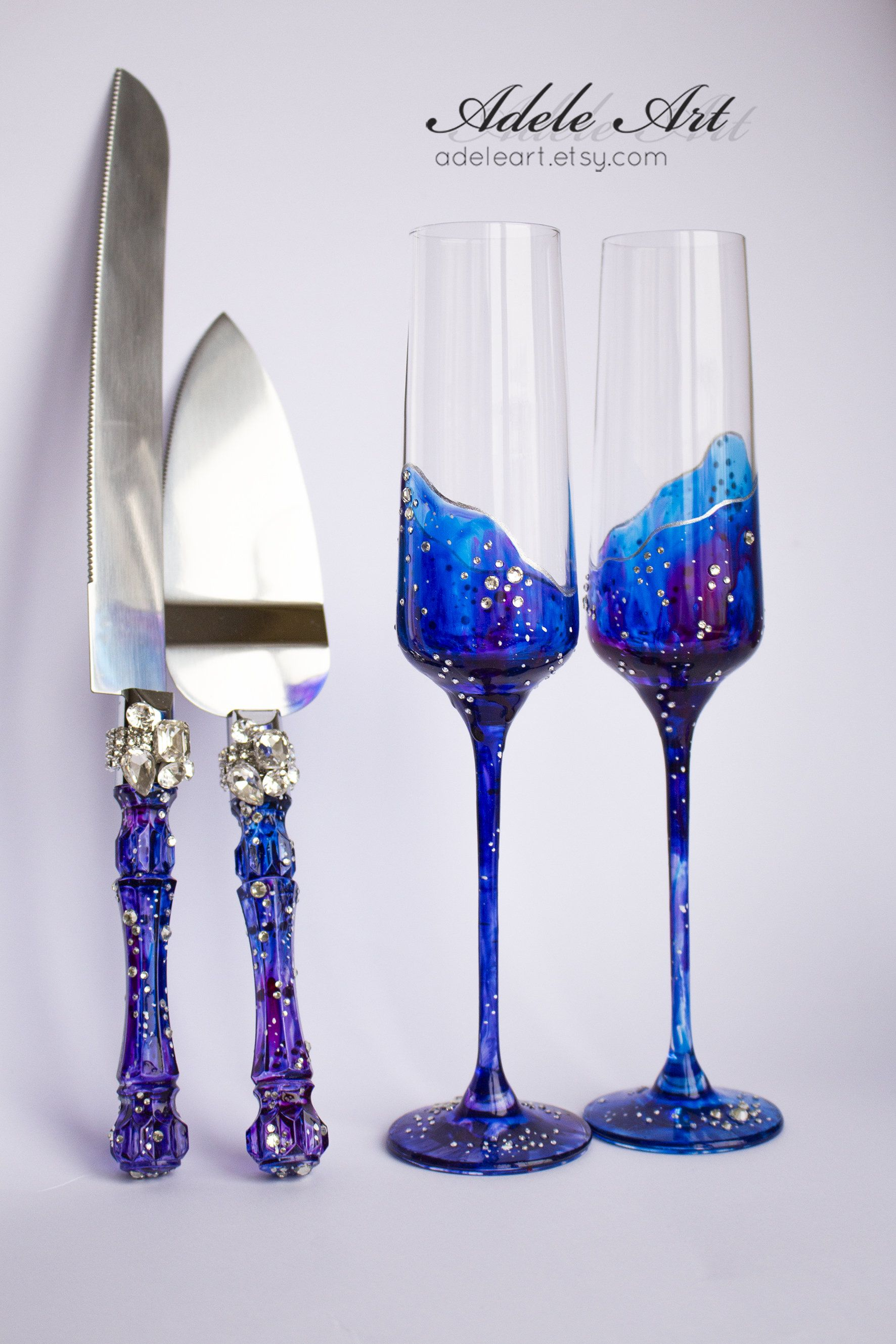 Galaxy Wedding Flutes Set Astrology You Are My Universe Champagne Flutes Set For Cake Luxury Traditional Champagne Glasses 4pcs Galaxy Wedding Wedding Flutes Champagne Flute Set