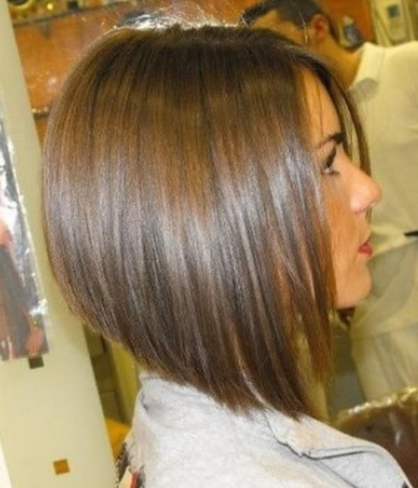 Image result for blonde highlights on SHORT brown hair CONCAVE BOB ...
