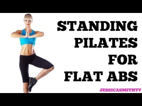 Standing Pilates for Flat Abs: 12-Minute Bodyweight Only Workout
