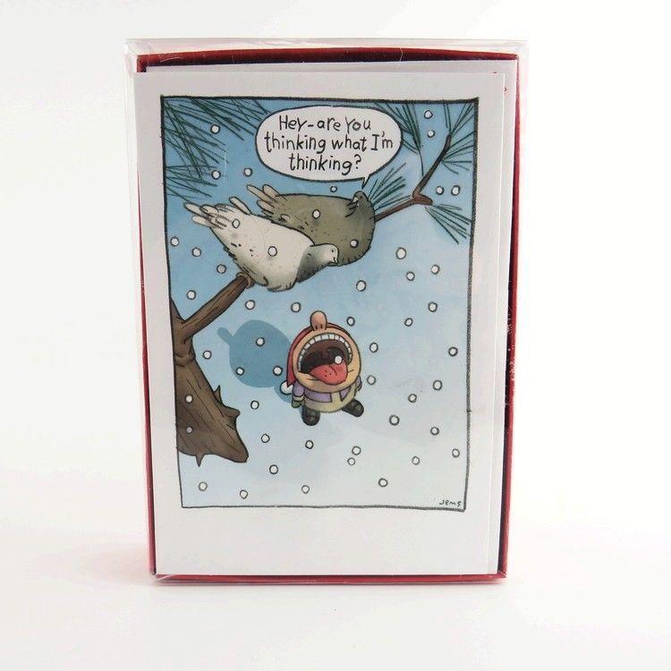 Hallmark Shoebox Funny Holiday Boxed Cards Snowbirds 18 Christmas ...