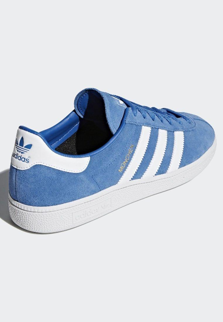 online retailer bbc98 e4244 adidas Originals MÜNCHEN - Matalavartiset tennarit - blue - Zalando.fi