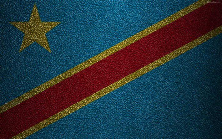Download Wallpapers Flag Of The Democratic Republic Of The Congo Dr Congo Drc Leather Texture 4k Congo Flag Africa World Flags African Flags Democratic Congo Flag African Flag Democratic Republic Of