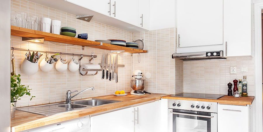 Swedish Style Interior Decorated With Ikea Furniture And Accessories 4betterhome Country Kitchen Designs Kitchen Design Kitchen Style