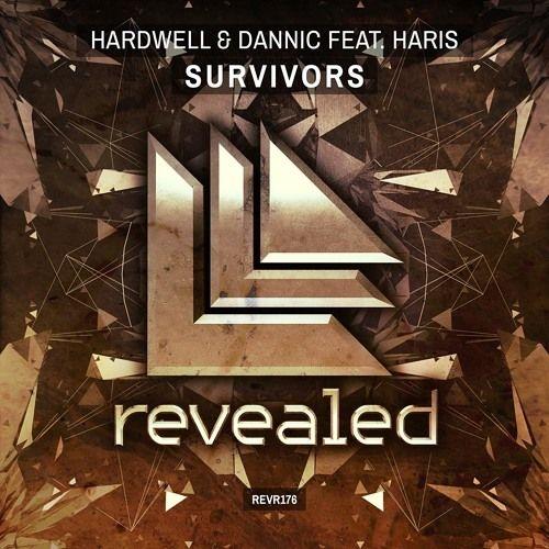 Hardwell, Dannic, Haris – Survivors (single cover art)