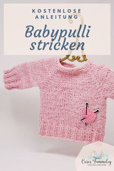 Photo of Ad: Baby sweater with Snaply – Free pattern – Caros Fummeley  [Advertising] Free…
