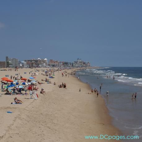 Ocean City Md Before Myrtle Beach This Was The Summer Vacation Week