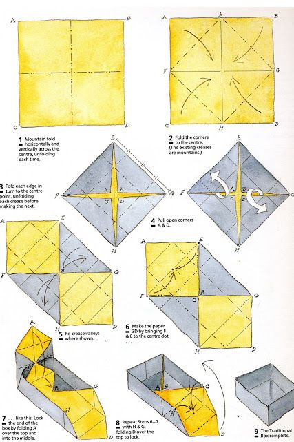 Doodlecraft Origami Present Box