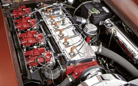 54 Pontiac Bonneville concept car w/straight 8   Adrenaline