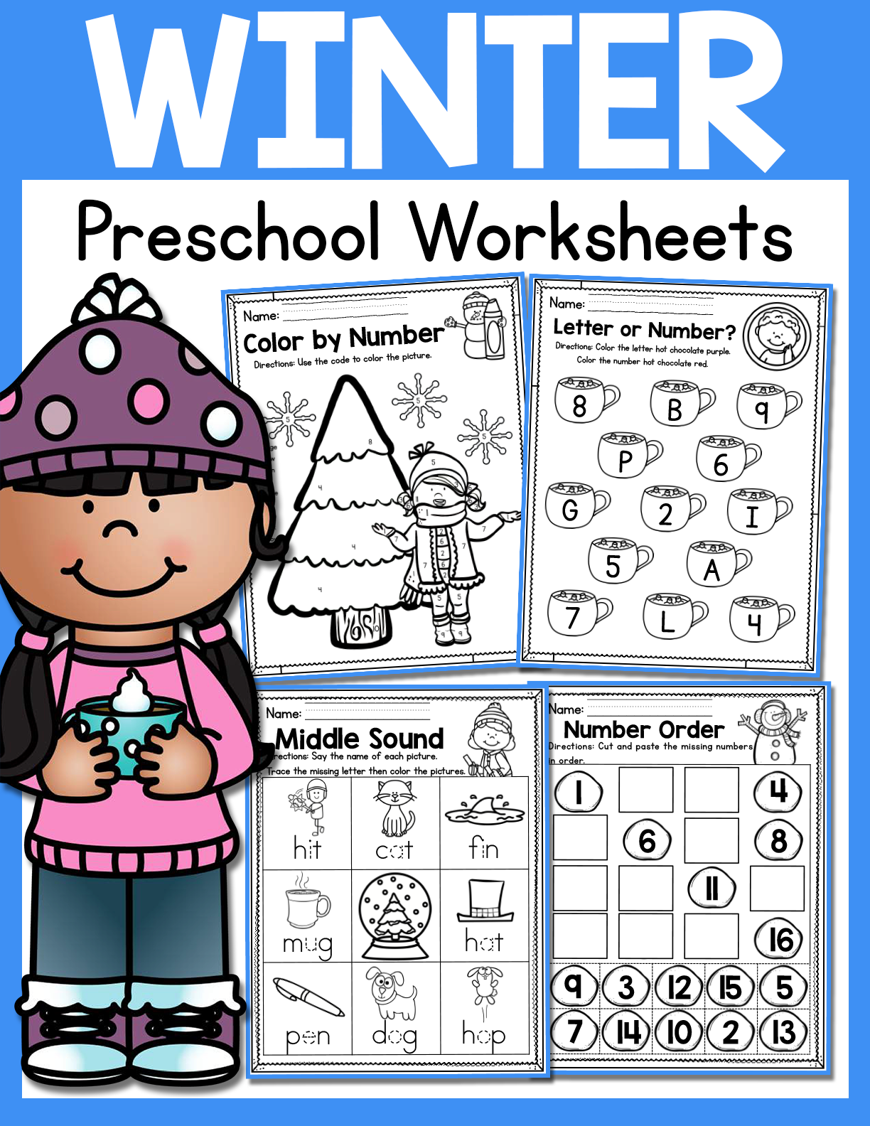 Winter Preschool Worksheets January Made By Teachers Preschool Winter Worksheets Winter Preschool Preschool Worksheets [ 1584 x 1224 Pixel ]