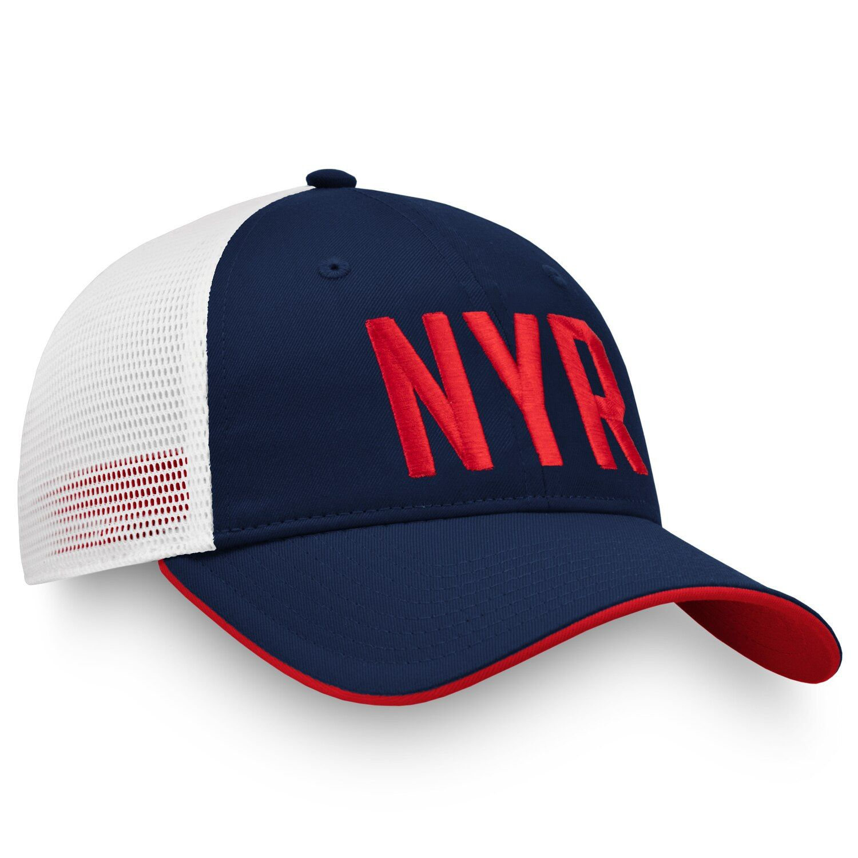 Women S Fanatics Branded Navy White New York Rangers Iconic Trucker Adjustable Hat Adjustable Hat Navy And White Trucker